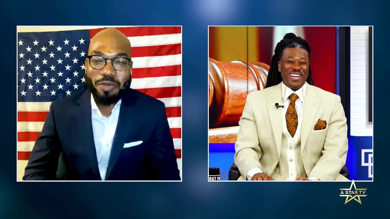 """[Episode 8] Guests: Political Strategist, Damien Jones and Meredith """"Mert"""" Campbell of HPD SWAT, discussing gun laws and gun protection."""